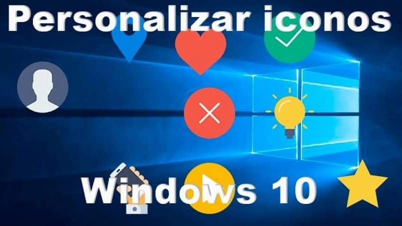 ícones do windows 10