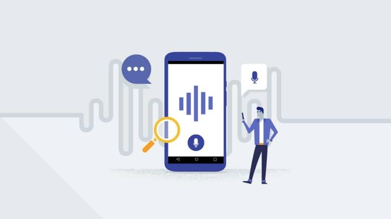pesquisa por voz android
