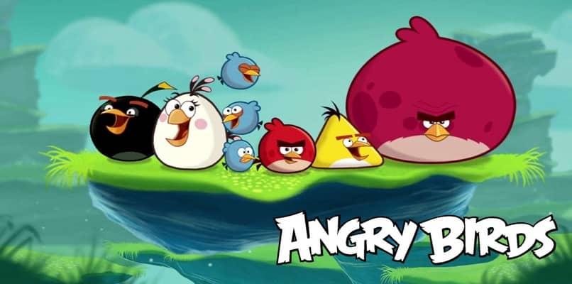 capa do jogo Angry Birds