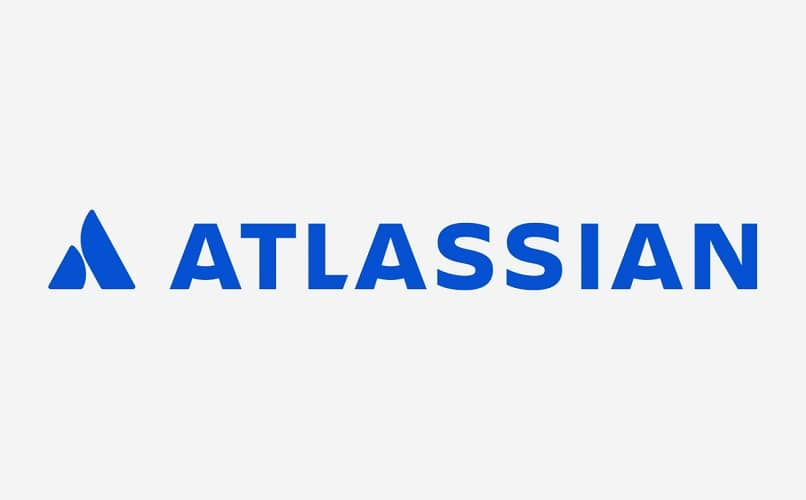 fundo branco azul atlassiano
