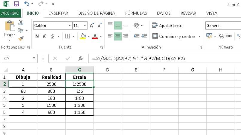 exemplo excel com função mcd