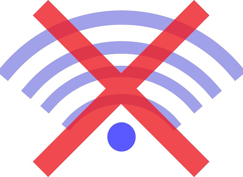 não há conexão com a Internet