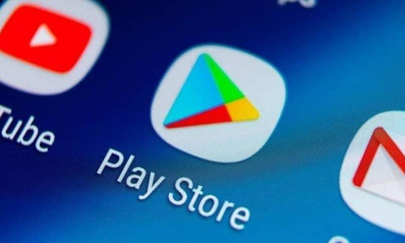 ícone do aplicativo google play no celular