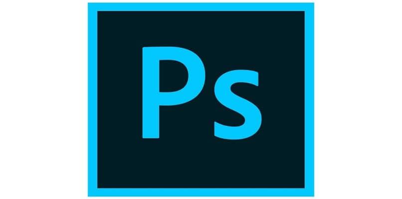 fundo branco do logotipo original do photoshop