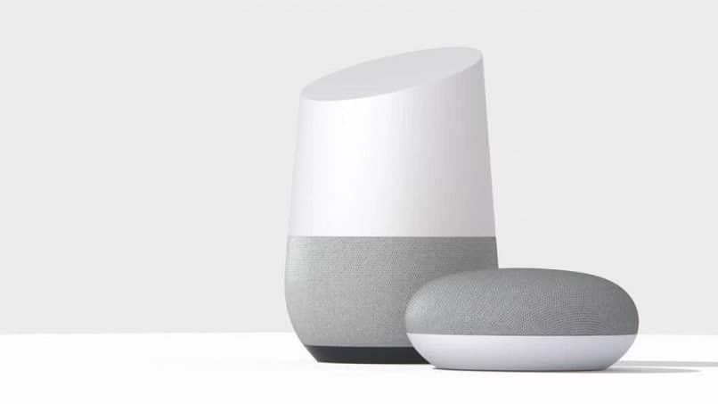 configurar altavoces de google home