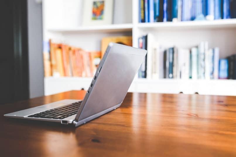 biblioteca de laptop