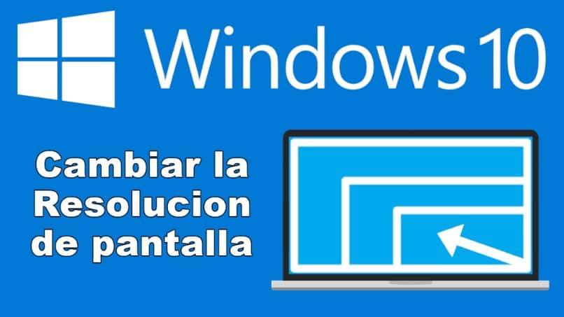 alterar resolução de janelas 10