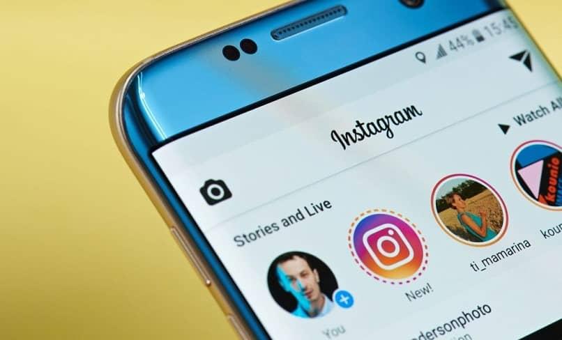 histórias de um perfil do instagram
