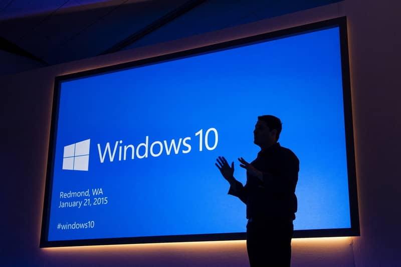 Homem de conferência do Windows 10