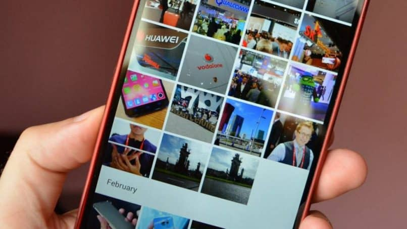 galeria de fotos android