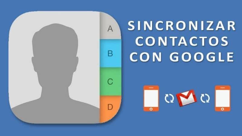 sincronizar contatos do gmail