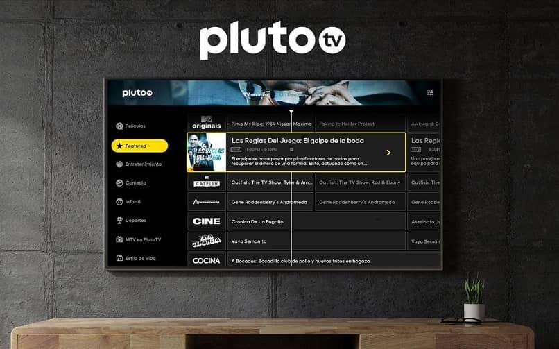 Pluto tv plataforma assistir na smart tv