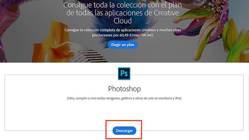 download oficial do photoshop