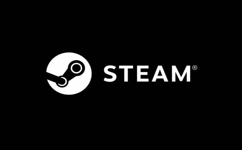 logotipo da plataforma Steam em preto e branco
