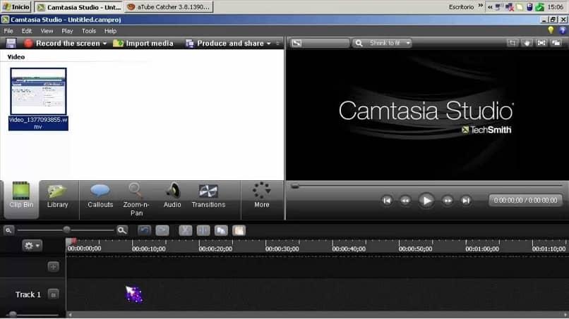 estúdio camtasia de efeitos de vídeo