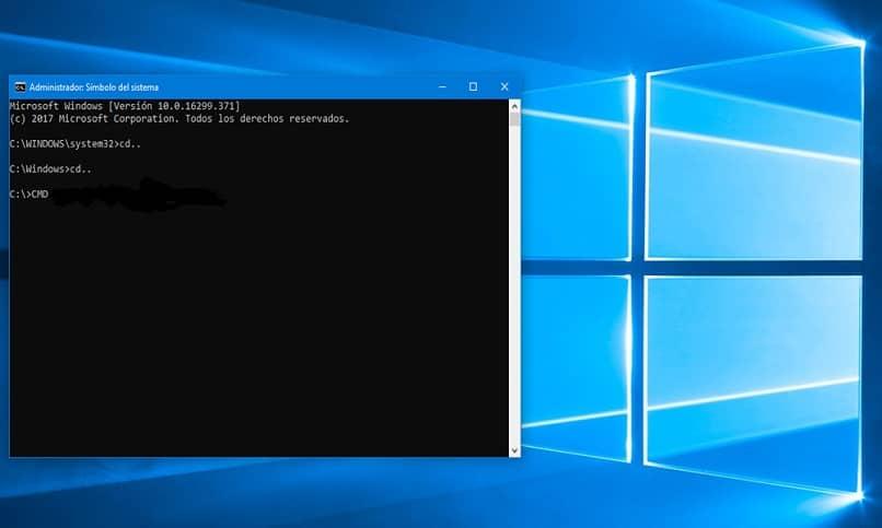 símbolo do sistema windows cmd