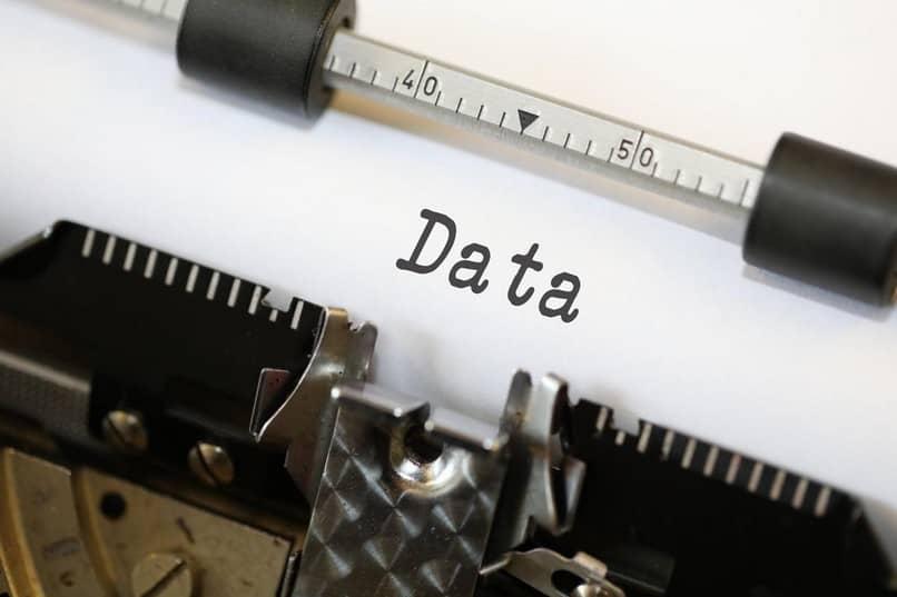 informação de dados