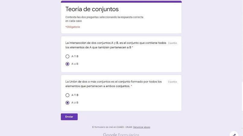 formulários de trabalhos de casa exames google sala de aula