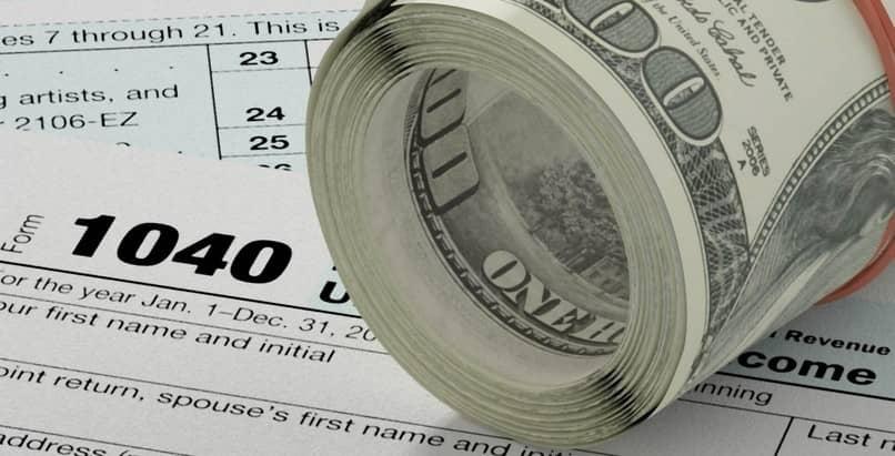 dinheiro impostos dólares