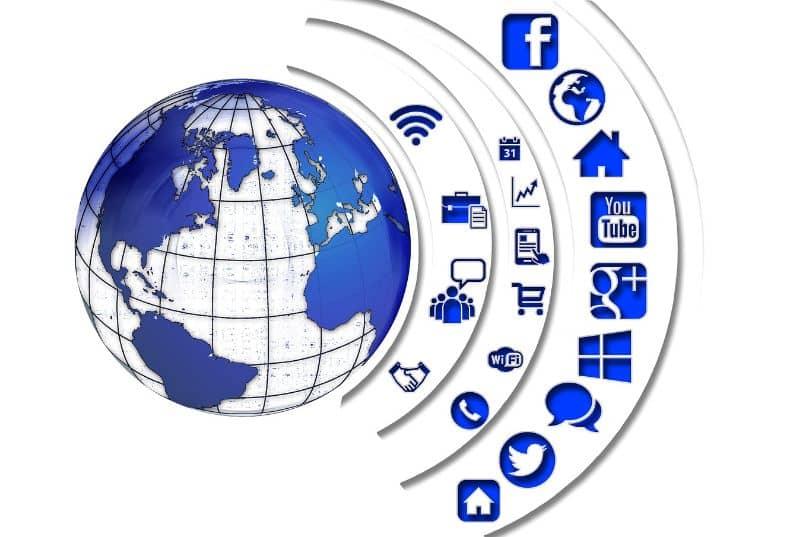 redes sociais de internet