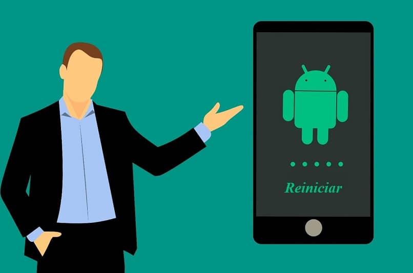 redefinindo dispositivo Android