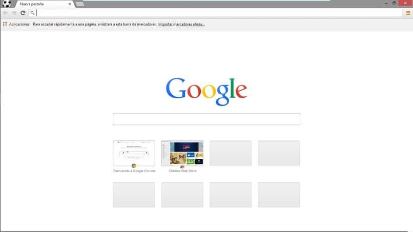 navegador google chrome