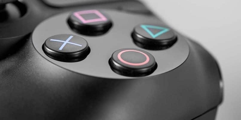 botões de controle de playstation