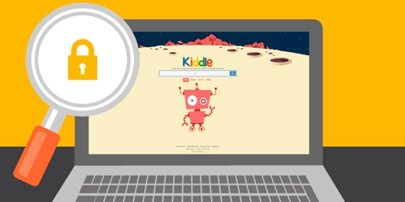 navegador infantil kiddle pc