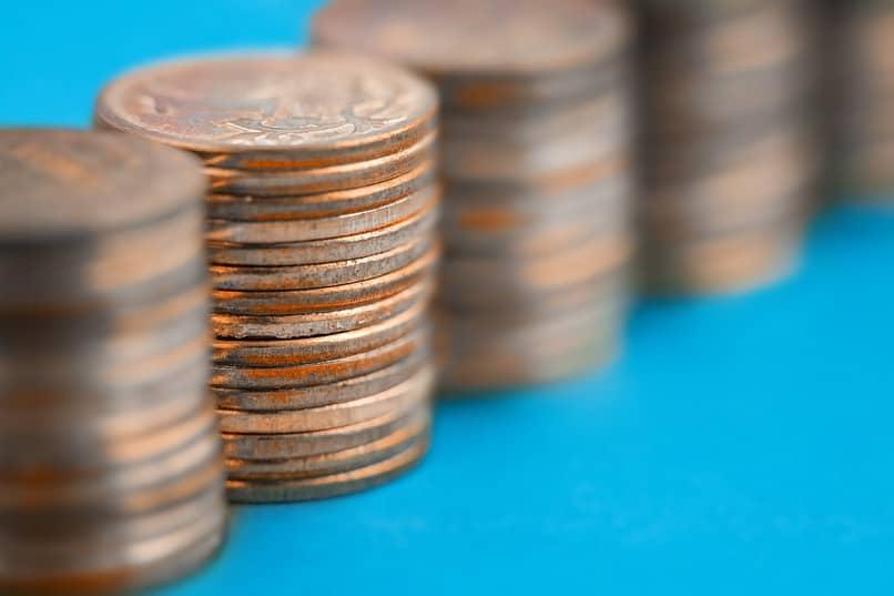 moedas dinheiro físico