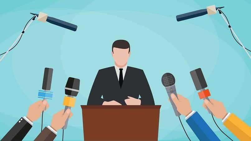 entrevista coletiva de relações públicas