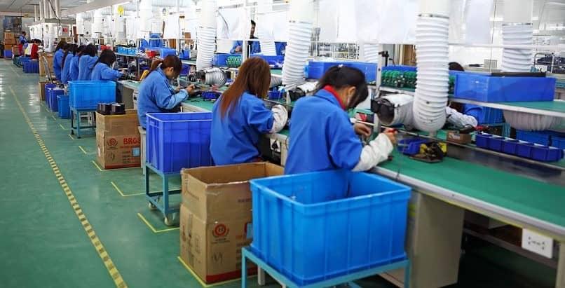 custo de produção da fábrica