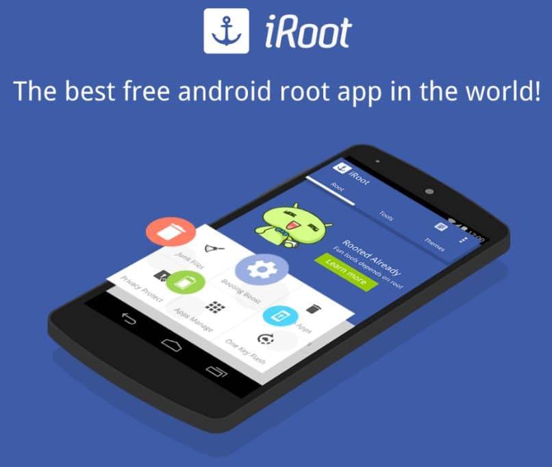 baixar ativar aplicativo iroot android