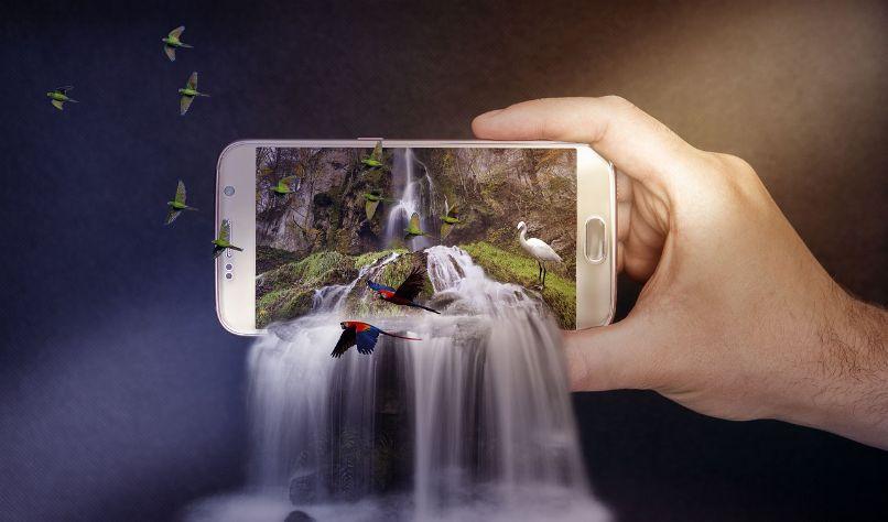 excluir objetos foto android