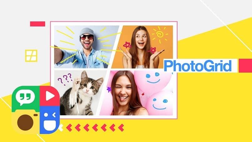 editar fotos com fotogrelha do meu android