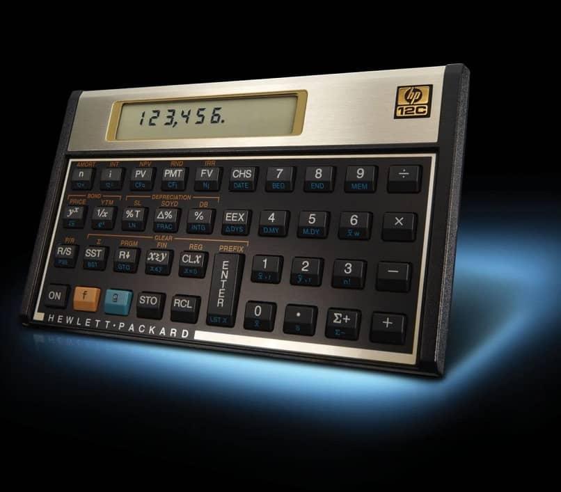calculadora financeira modelo 12c hp