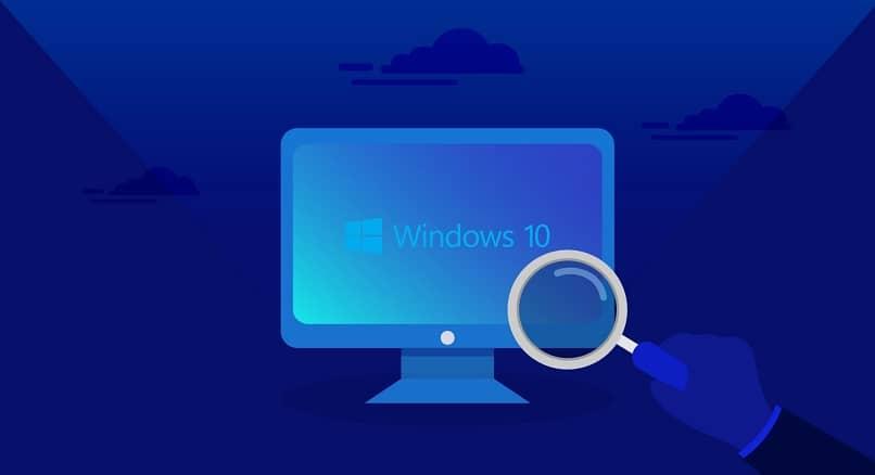 lupa de computador windows 10