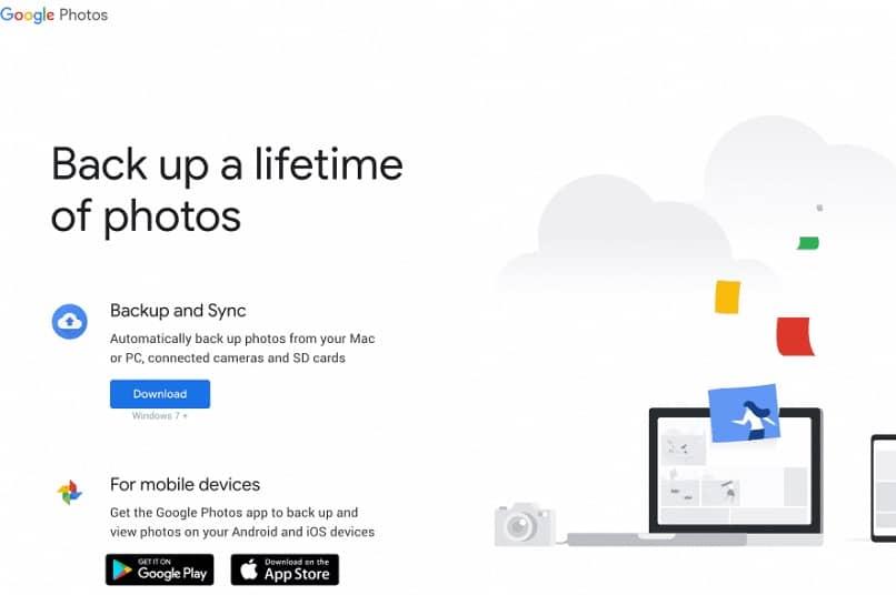 google fotos home