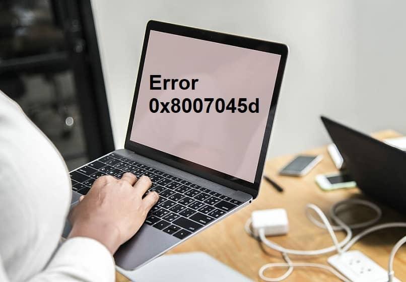 pessoa usa pc show error 0x8007045d