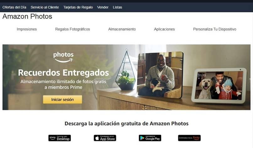 home page fotos amazon