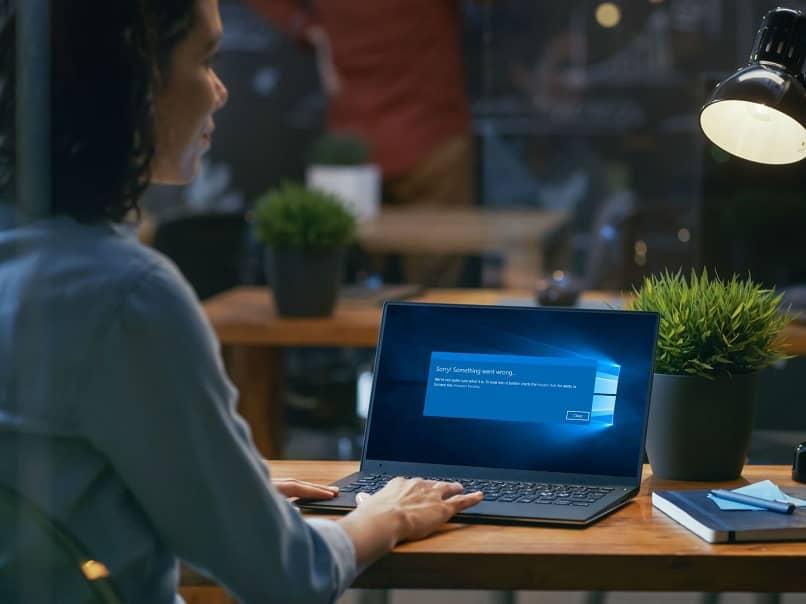 erro laptop windows
