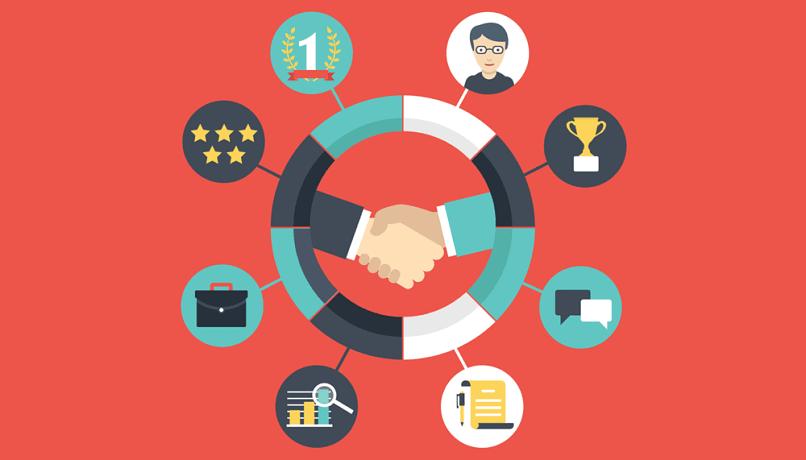 bom relacionamento empresa cliente ajuda a atingir objetivos