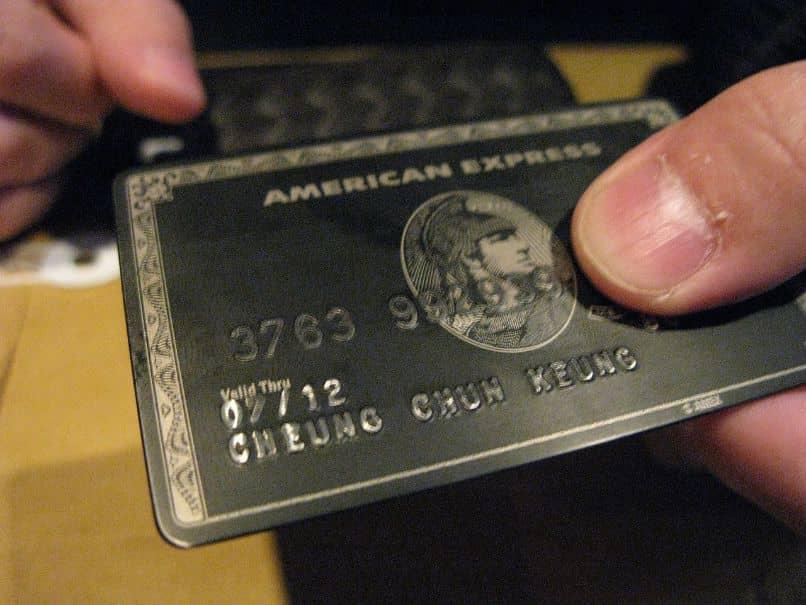 American Express Card cancelado