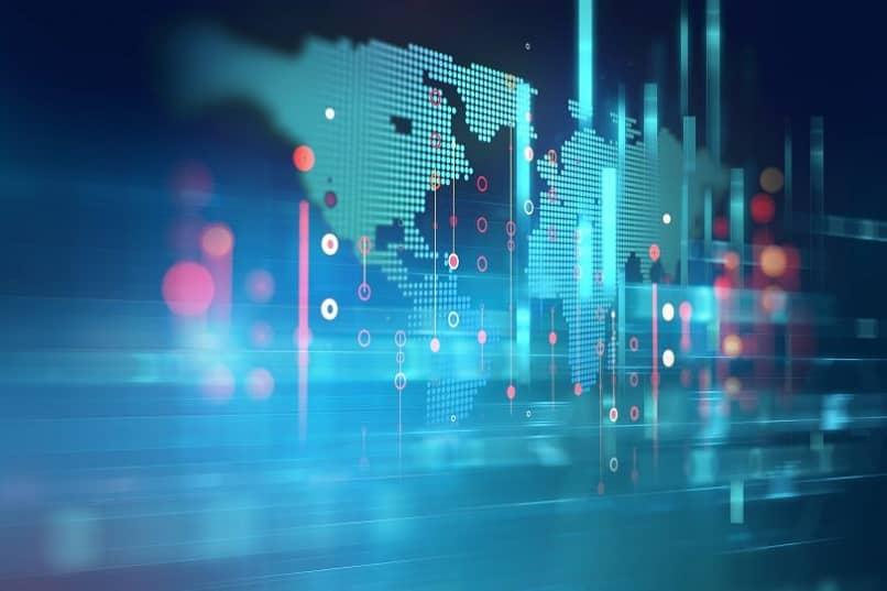 mapa mundial mostra alcance empresas mais valiosas