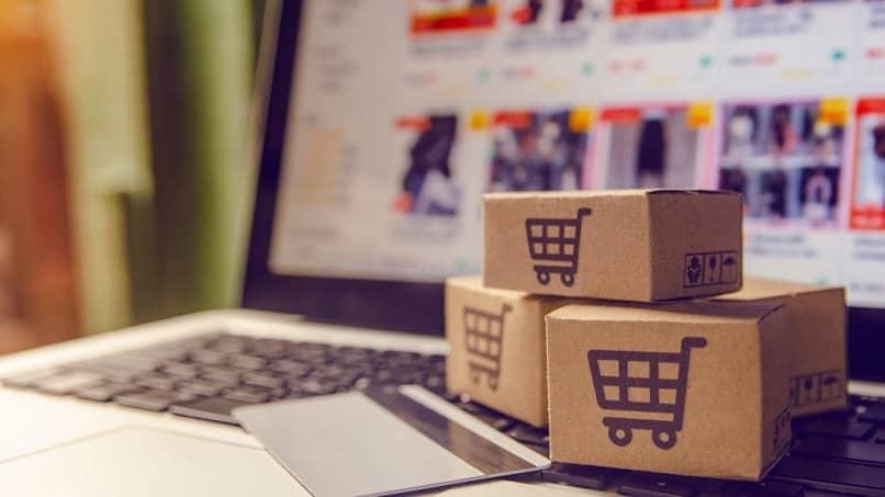 cartão de laptop comprar produtos loja virtual