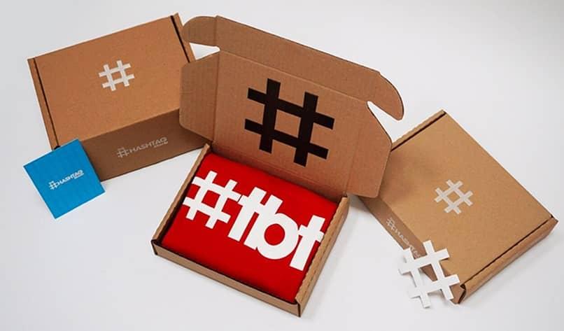 imagem publicitária da hashtag tbt