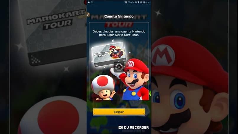 captura de tela do formulário para criar uma conta nintendo