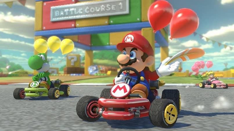 Capture uma faixa do Mario Kart Tour