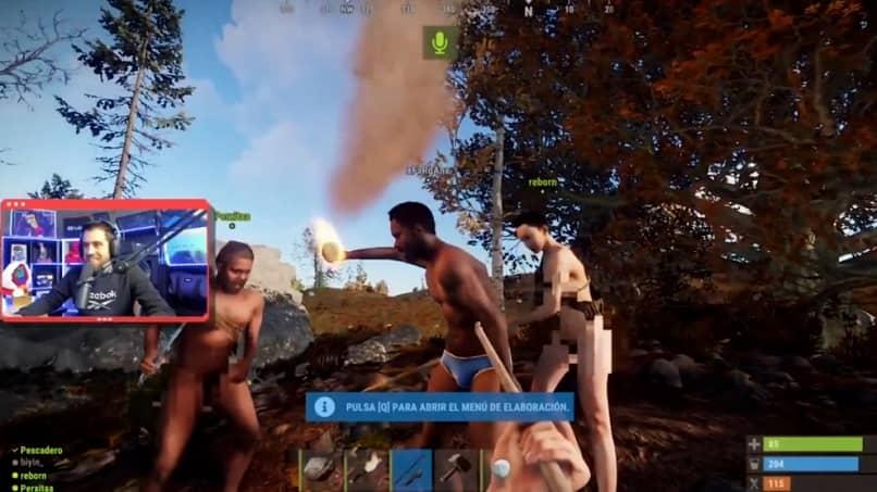 streamer auronplay jogar diferentes personagens ferrugem