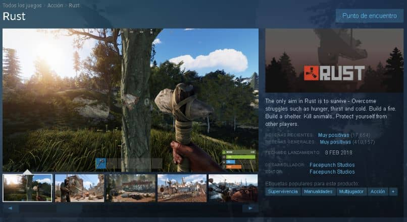 descarga rust pc steam