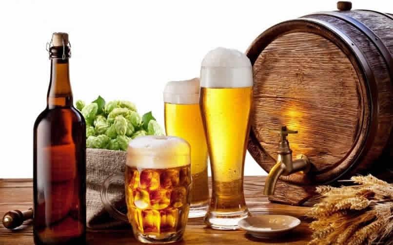imagem de marketing para promover uma cerveja artesanal
